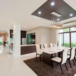 Modern designer dining room