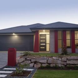 Designer suburban house